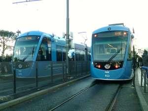 Spårvagnar i Sundbyberg invigningsdagen
