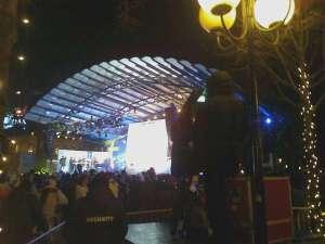 Kungsträdgården scenen
