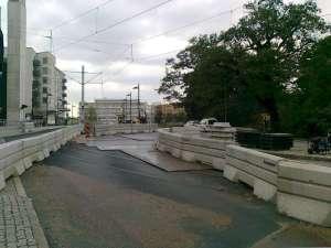 Trafikomläggning Liljeholmen