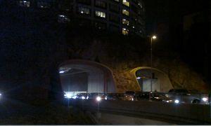 Tunnelnedfarten vid Roslagstull