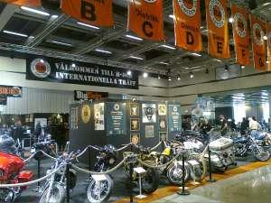Harley Davidson på MC-mässan