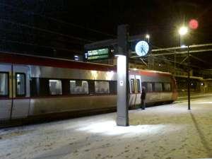Uppsala C, Upptåget mot Tierp-Gävle