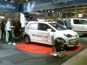 Volkswagen e-load up! elbil
