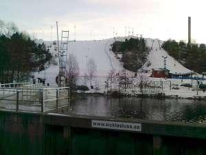 Hammarbybacken, från Sickla sluss
