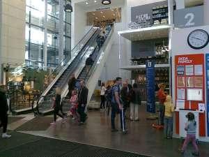 IKEA innanför ingången