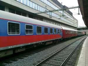 Utländska personvagnar i krokodiltåget