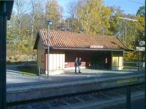 Lidingöbanan stationshuset i Skärsätra