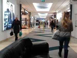 Skinnsoffa i Täby Centrum