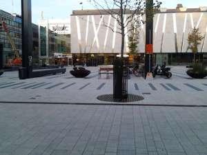 Täby Centrum, torget