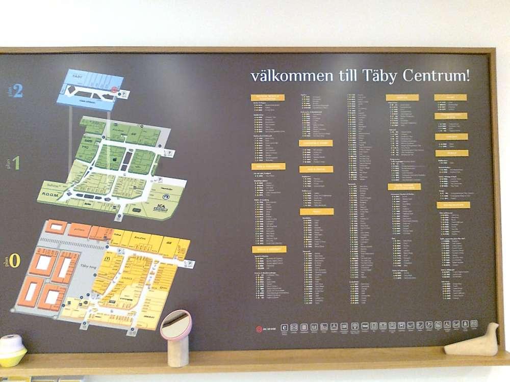 täby centrum karta Täby Centrum bästa nordiska köpcentrum 2015 | stockholmiana täby centrum karta