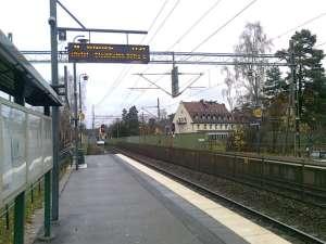 Djursholms Ösby, mot norr