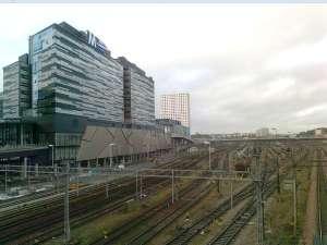 Mall of Scandinavia, precis vid spårsmeten