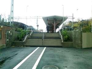 Nya trappan vid Östra station
