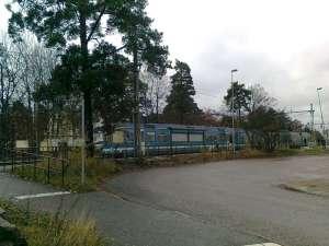 Roslagsbanan, Mörby