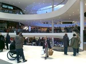 Shopping i Mall of Scandinavia