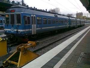 Tåg vid Östra station