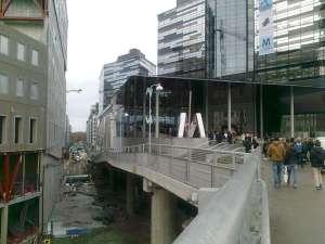 Utblick över Evenemangsgatan