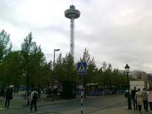 City Skyliner i Kungsträdgården