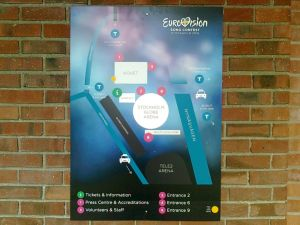 Eurovision Song Contest 2016, affisch