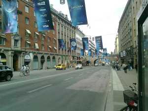 Kungsgatan Eurovision-flaggor