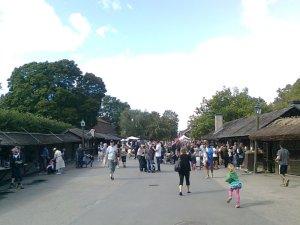 Marknadsgatan mot Bollnästorget