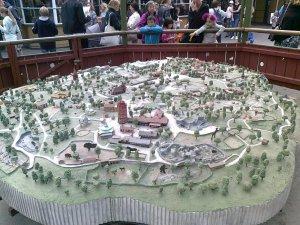 Modell av Skansen