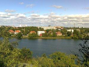 Utsikt norrut från Skansen