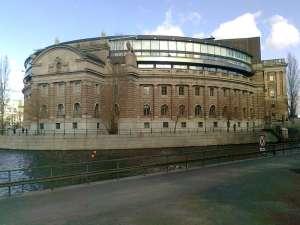 Nuvarande riksdagshuset