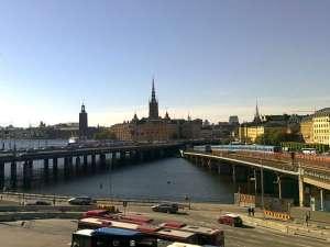 Broar mellan Södermalm och Gamla Stan