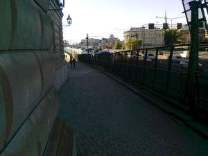 Gångväg på Riddarholmen