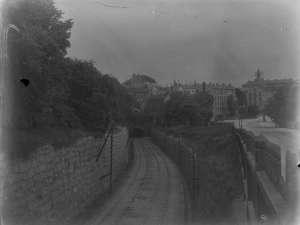 Tunnelmynning vid Mariaberget 1896