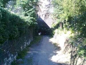 Tunnelmynning vid Mariaberget 2017