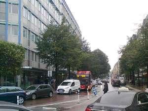 Sturegatan uppåt Östermalm, sett från Stureplan