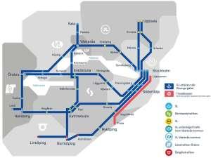 Movingo karta över linjenätet tåg