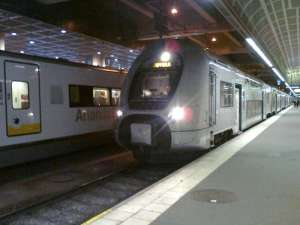 Stockholm C X40-tåg ska strax avgå mot Uppsala