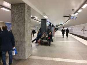 T-Centralen översta plattformen