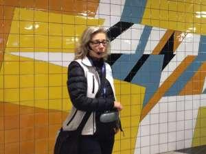 T-Centralen vägg södra biljetthallen