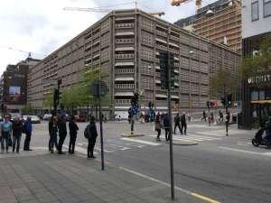 Parkaden hörnet Regeringsgatan – Mäster Samuelsgatan