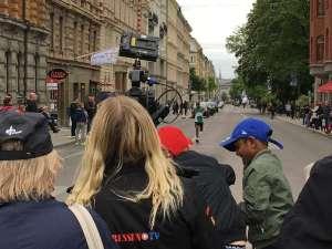 12:47 Stockholm Marathon Sturegatan