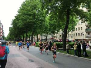 12:55 Stockholm Marathon Karlavägen