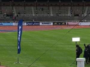 14:09 Stockholm Marathon Stockholms stadion segraren Nigussie Sahlesilassie inkommer