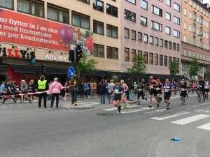 14:44 Stockholm Marathon Hornsgatan västerut nära Mariatorget
