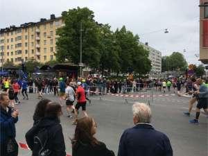 14:45 Stockholm Marathon korsningen Hornsgatan / Torkel Knutssonsgatan