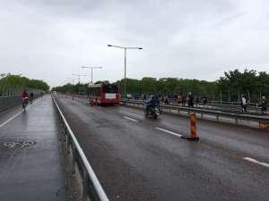 15:01 Stockholm Marathon Västerbron norrut