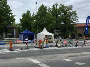 Stockholm Marathon Asics partytält