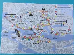 Stockholm Marathon karta