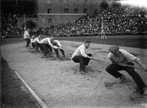 Stockholms stadion 1912 OS dragkamp