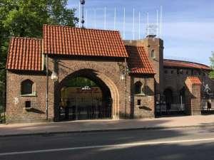Stockholms stadion från Valhallavägen