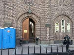 Stockholms stadion ingång till Kungliga läktaren